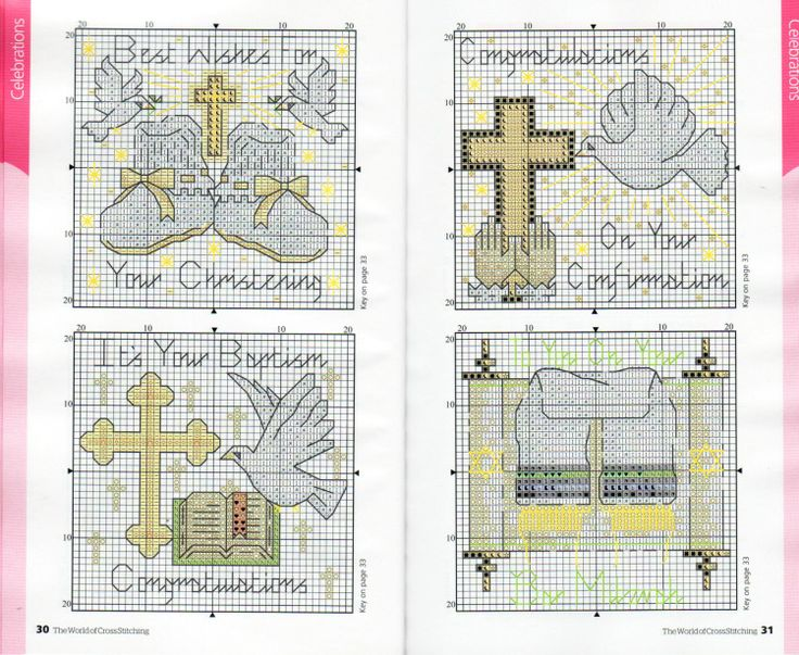 Gallery.ru / Фото #69 - The world of cross stitching 153 + приложение 120 Charts - tymannost