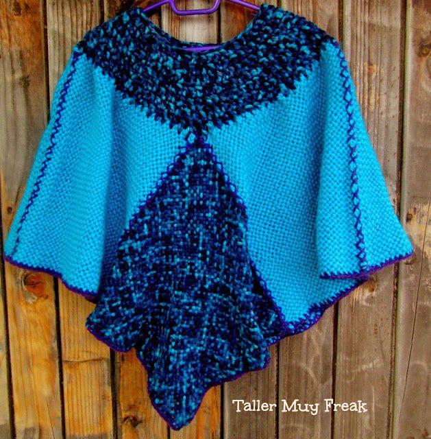 #telar #poncho #handmade