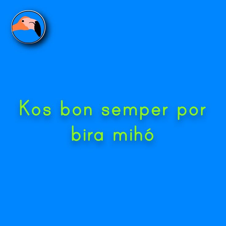 Good things can always become better | Kos bon semper por bira mihó! For translation services contact us at info@henkyspapiamento.com #papiamentu #papiaments #papiamento #creole #language #curacao #bonaire #aruba #caribbean #better #beter #mejor #melhor #mejorar #melhorar More learning materials available at henkyspapiamento.com