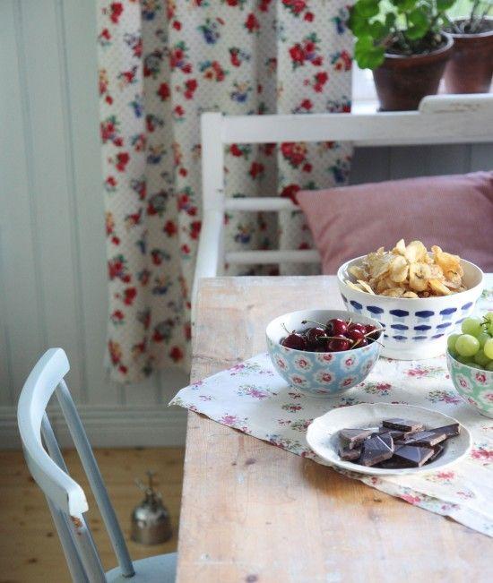 Cherries and crisps