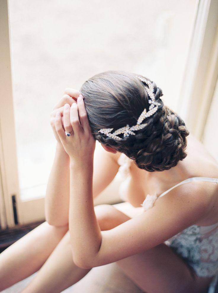 Bridal Hair - Wedding Style - Old World Elegance | Lily & Sage | Luxury Wedding Planning & Styling