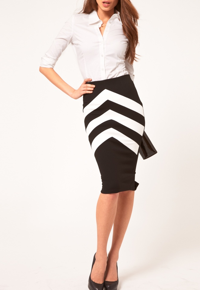 Nothing like a good pencil skirt, a button down shirt, and a set of heels
