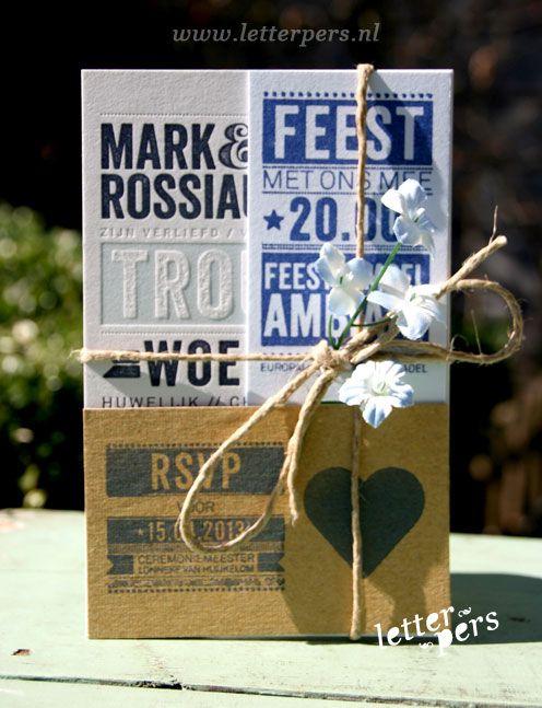 letterpers_letterpress_trouwkaart_mark_karen_pakketje_bloemen
