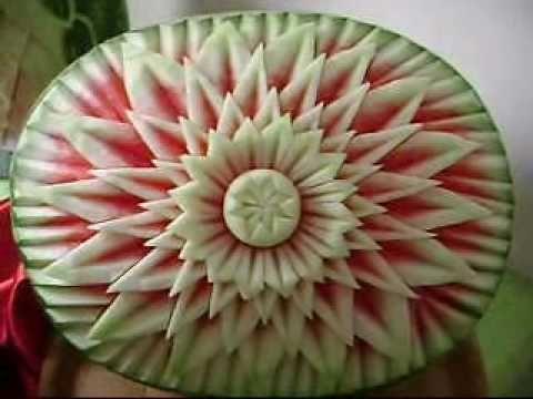 ▶ Escultura em Frutas e Legumes Mara Fator - YouTube Mais