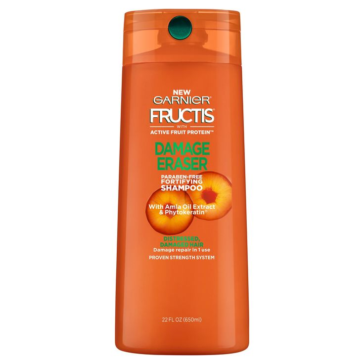 Garnier Fructis w/ Active Fruit Protein Damage Eraser Fortifying Shampoo w/ Amla Oil Extract & Phytokeratin - 22 fl oz