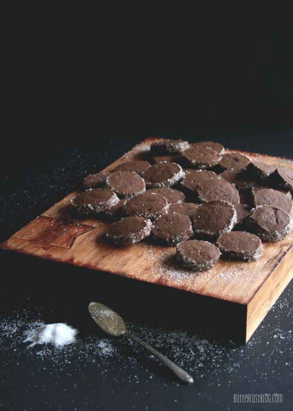 Salt & Pepper Hot Cocoa Shortbread Cookies   Butterlust Blog More