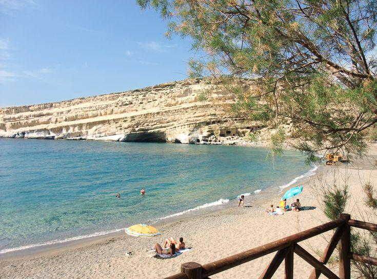 crete, Aghia gallini before the tourist invasion
