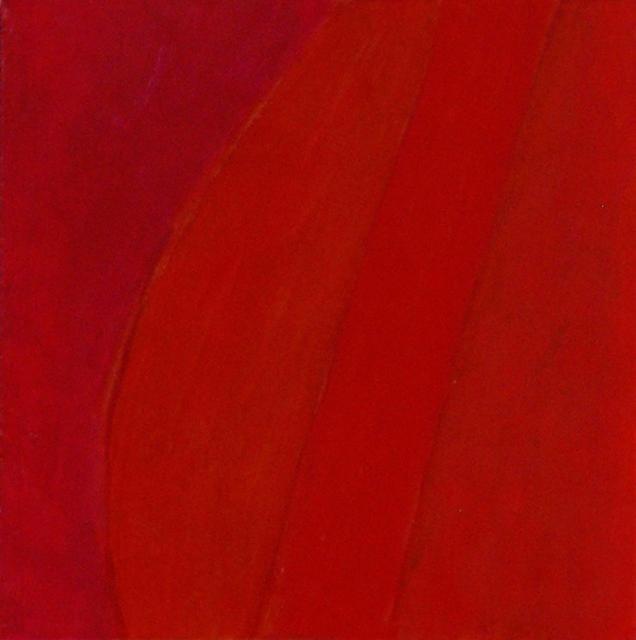 Françoise Sullivan, series: Aedh, No.2, 2012, oil on canvas, 30x30in © Courtesy Corkin Gallery