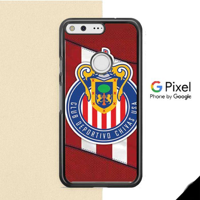 Chivas Fc Overlap Logo Google Pixel Case