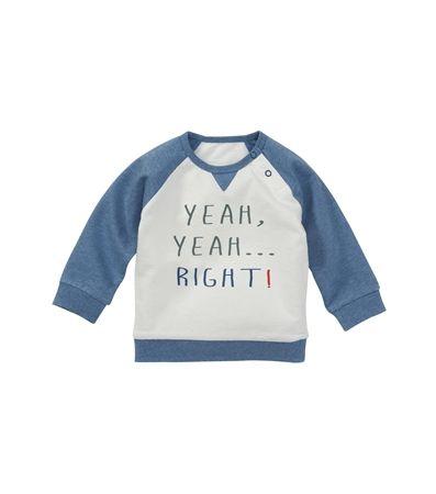 Baby jongens sweater yeah yeah - HEMA