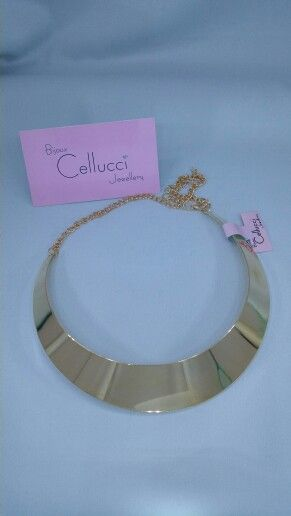 Cellucci jewellery simple fashion necklace available in gold and silver #fashion #necklace # montreal