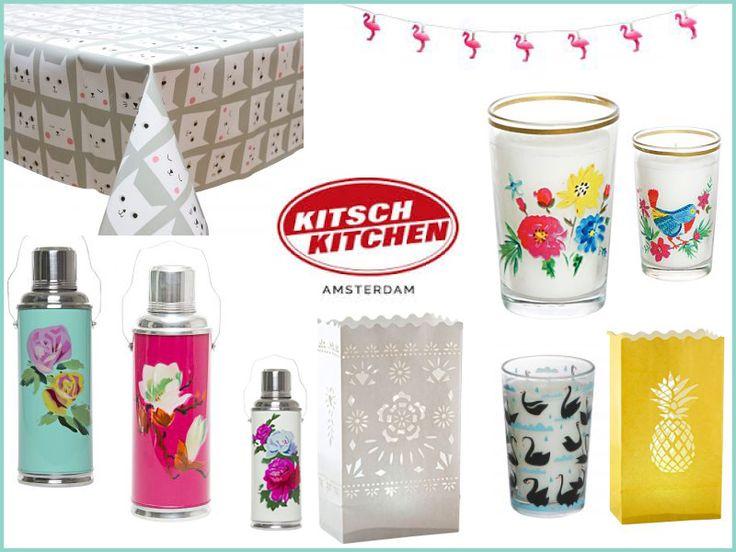 Om de lente te vieren hebben we allemaal super fleurige artikelen van Kitsch Kitchen ingekocht! Van welk product word jij het meest vrolijk?