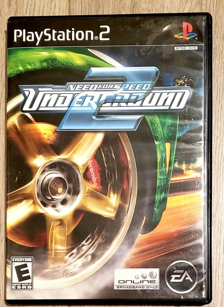 Need For Speed Underground 2 Sony Playstation 2 PS2 Game