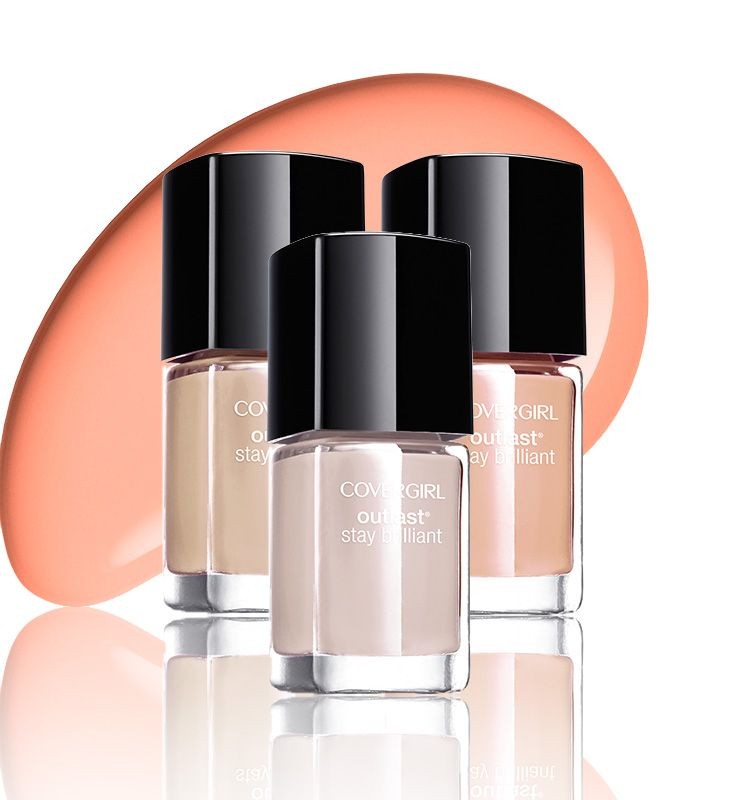 The Best Nude Nail Color COVERGIRL Outlast Stay Brilliant Gloss In Forever Fawn Non Stop Stone Peaches And Cream