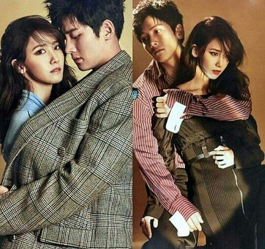 2016.10.02 Ji Chang Wook and YoonA - VOGUEKOREA