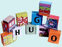 Découpage Alphabet pour enfants sur HugoLescargot.com