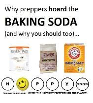 Why it makes sense preppers hoard the baking soda.