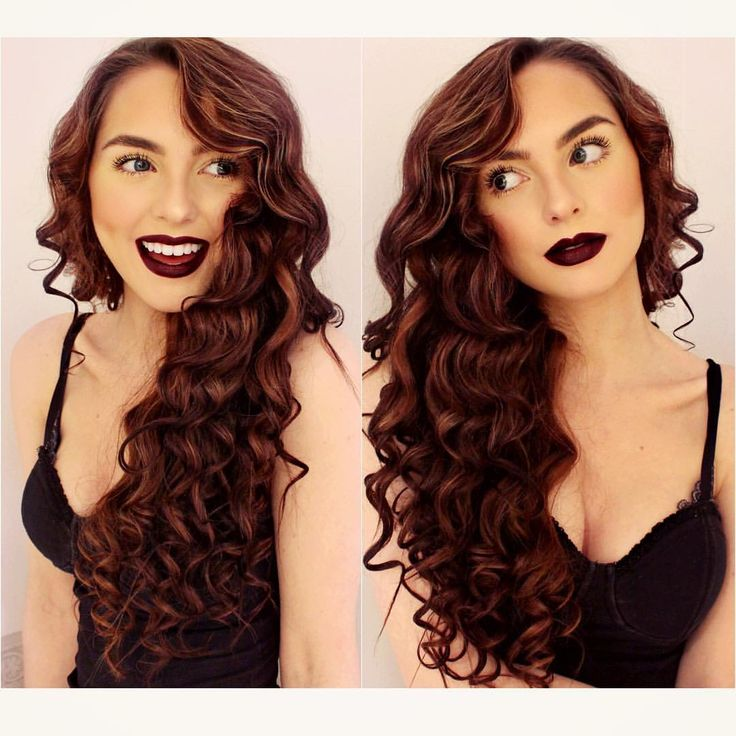"""Jackie Wyers on Instagram: """"These pics show my dominant facial expressions...  to  real quick lololFilmed a video today, my everyday makeup look with all my fav @maccosmetics lipsticks for lots of options! Here I'm rocking the new #vivaglamarianagrande  #boldlips used my bellami bubble wand to get these curls on my natural hair!"""""""