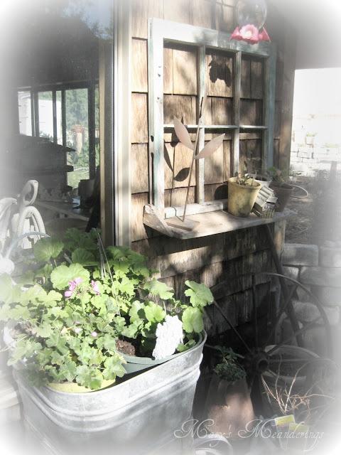 1000 images about the old shed on pinterest for Gartendeko altes fenster