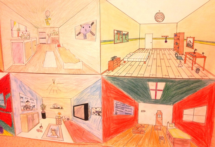 Travail Sur La Perspective Partir De La Chambre Arles