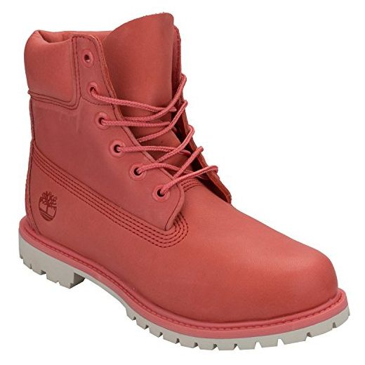 Timberland 6in Premium Boot - W SPICED CORAL, WOMAN, Size: 41.5 EU (10 US / 8 UK) - Stiefel für frauen (*Partner-Link)