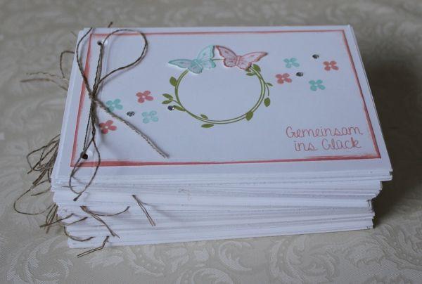 Hochzeitseinladung Vintage Stampin Up Svatebni Wedding Cards
