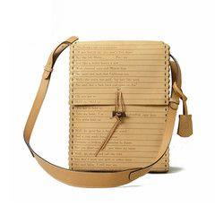 KILIKILI - Oriental Scroll Leather Shoulder Bag - Limited Edition