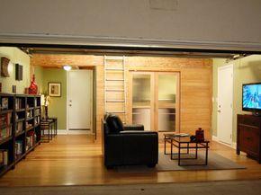 Garages Converted: Work And Workout Spaces | DIY Garage Ideas   Garage  Doors, Organization