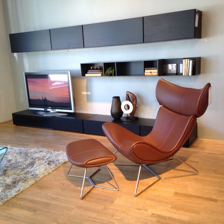 Boconcept Imola chair and Lugano wall system