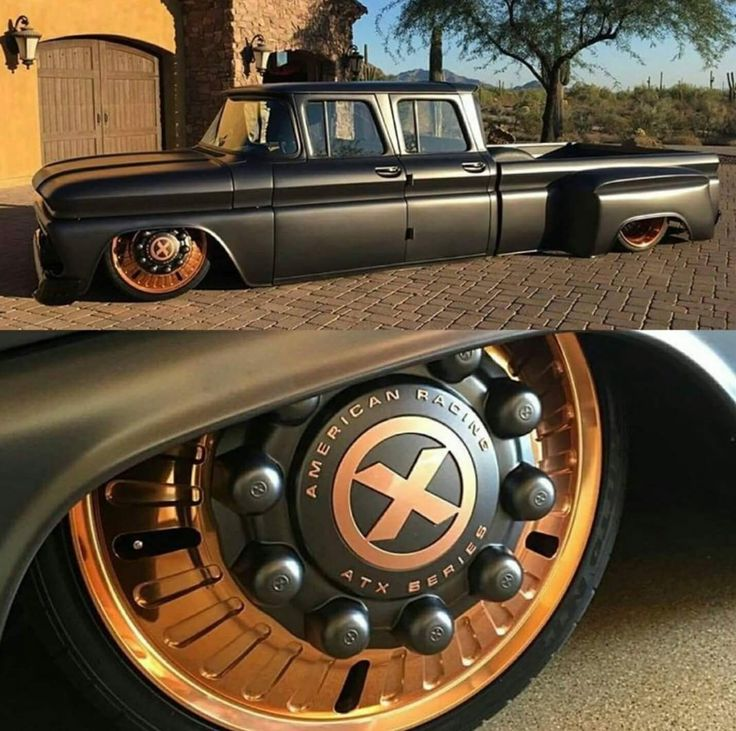 Cool 60's Chevy crew cab dually