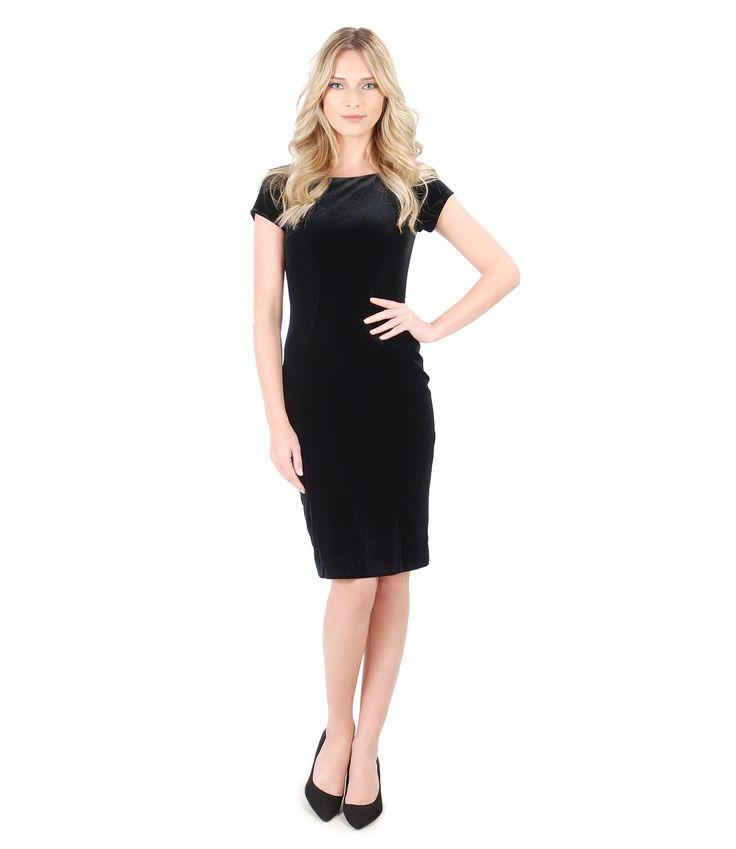 Black, magic, sexy, velvet! Spring17 | YOKKO #lbd #velvet #dress #black #spring17 #evening #fashion #yokko