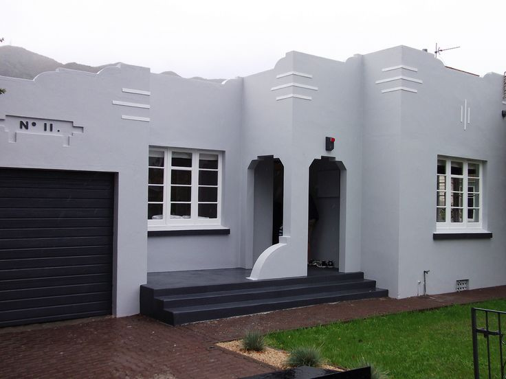 """No. 11"" Art Deco house, Lower Hutt, New Zealand 