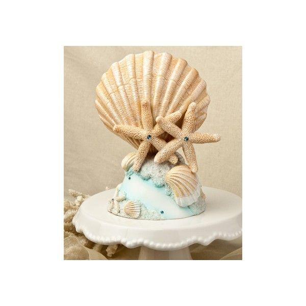 Questo  meraviglioso Cake Topper è realizzato interamente in resina e caratterizzato dalla  combinazione di splendide conchiglie dai colori neutri ed eleganti e da due meravigliose  stelle marine poste al centro del cake topper e impreziosite da strass di colore  blue.  Il  tema marino e la composizione elegante e allo stesso tempo originale, rendono questo  accessorio l'elemento perfetto per rendere unica la torta nuziale di un matrimonio  celebrato in una delle stagioni più belle: ...