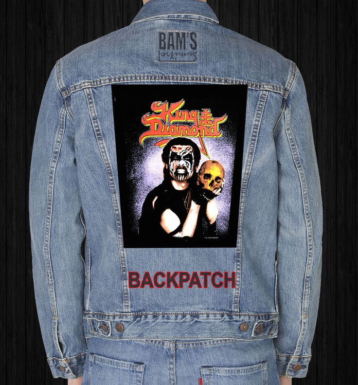 KING DIAMOND GIANT BACKPATCH #Unbranded