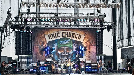 Check out #EricChurch and #DwightYoakam live in #concert at CONSOL Energy…