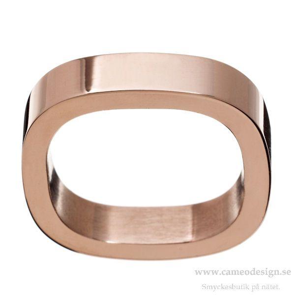 Ring Jolie i rosé från EDBLAD, 149 kr. https://www.cameodesign.se/ringar/edblad-jolie-ring-rose-gold/