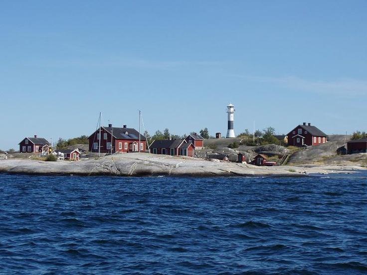 Huvudskär- island in the Stockholm Archipelago