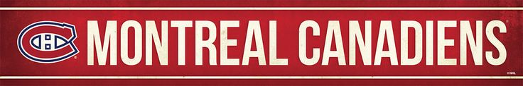 Montreal Canadiens Street Banner $19.99