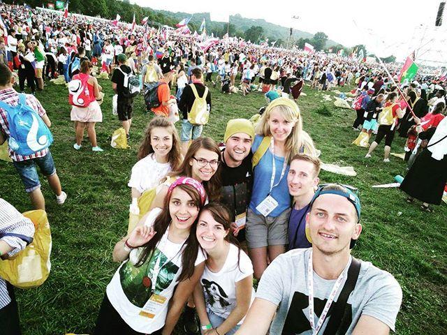 Cześć ekipo :3 #swiatowednimlodziezy #worldyouthday #krakow2016 #wyd #jmj #love