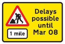 Road Works Signs - UK Road Traffic Signs