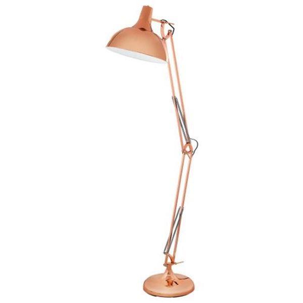 Lampadar iluminat decorativ interior Eglo, gama Borgillio, model  94705 http://www.etbm.ro/