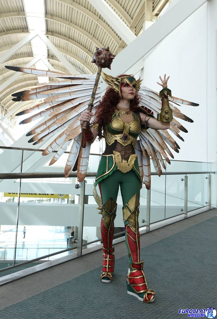 Cosplay Blog: Hawkgirl from DC Universe  Cosplayer: Axceleration Cosplay Photographer: Eurobeat Kasumi Photography