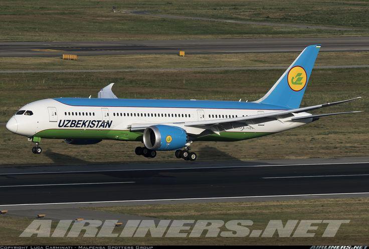 Boeing 787-8 Dreamliner - Uzbekistan Airways | Aviation Photo #4483747 | Airliners.net