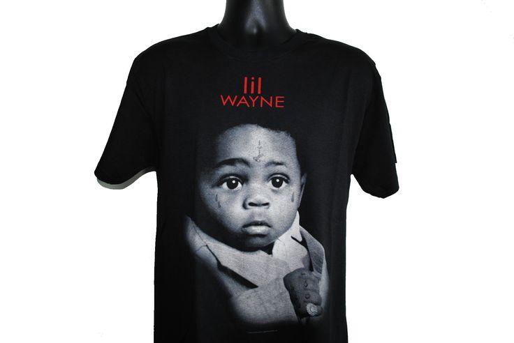 "2010 Lil Wayne Tha Carter III Classic ""A Milli"" Era Iconic Cover Art Hip Hop Album Promo T-Shirt"