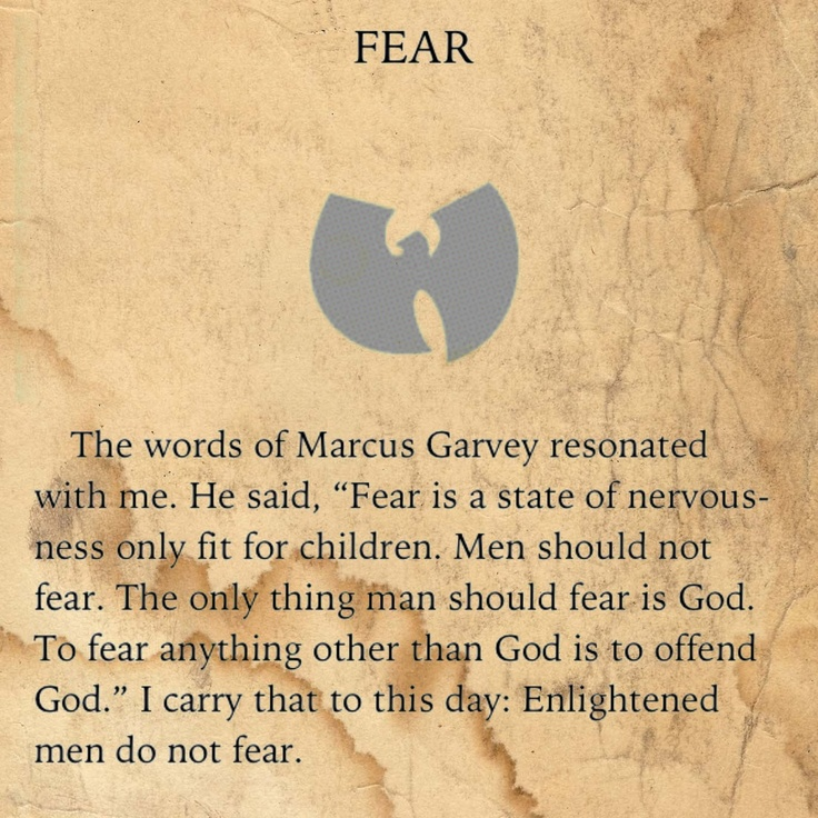 "from ""The Tao of Wu"" by The Rza"