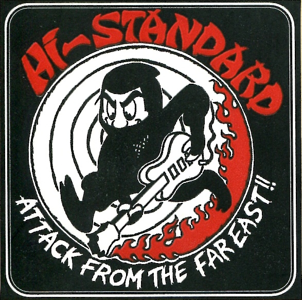 Hi-STANDARD / ATTACK FROM FAR EAST TOUR STICKER