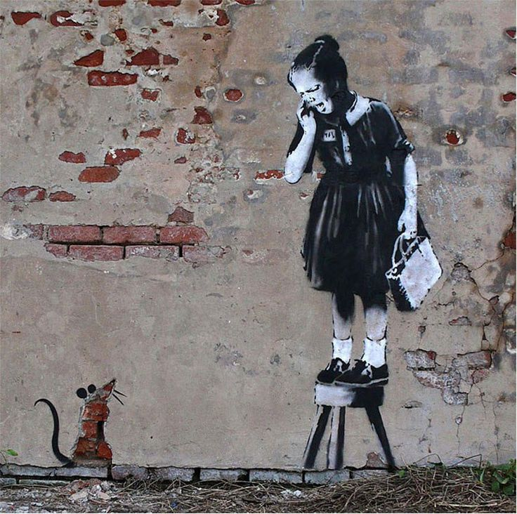 The Ultimate Banksy Gallery (127 photos)