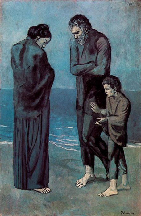 Pablo Picasso - Poor People on the Seashore
