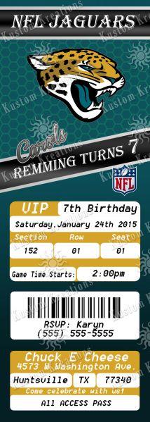 nfl-jacksonville-jaguars-ticket-2-birthday-invitation