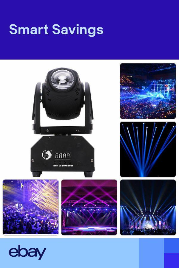 60W RGBW LED Moving Head Stage Lighting Beam DMX Bar Disco Club Party DJ Lights